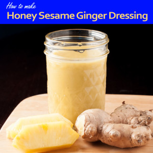 Sesame Ginger Salad Dressing Title Graphic