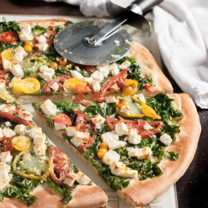 how-to-make-spinach-feta-pizza