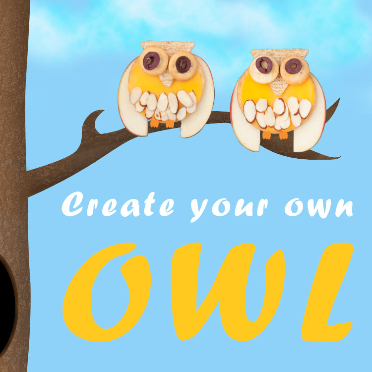 how to make your own owl snack - craft