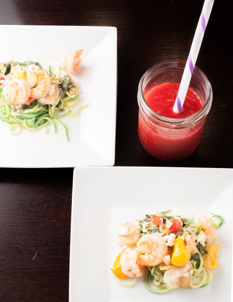 shrimp-feta-zoodles