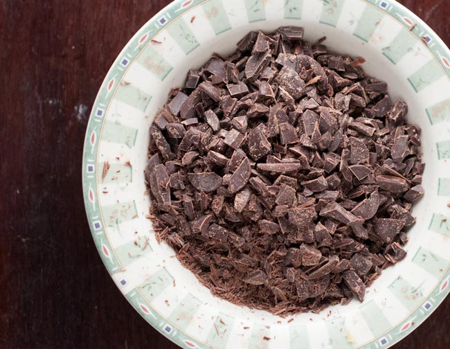 chocolate for dark chocolate pecan bark
