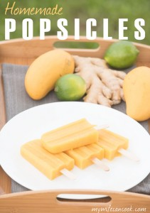 how to make healthy homemade popsicles