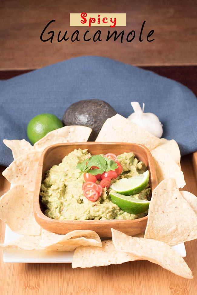 simple spicy guacamole recipe