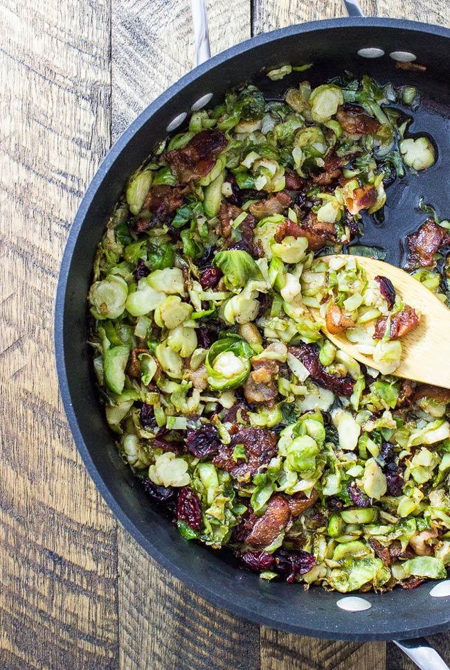 brussels-sprouts-bacon-cranberries-1