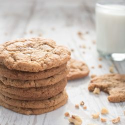 Heath Bar Toffee Nut Cookies