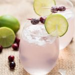 cranberry moctails - how to make a cranberry mocktail drink