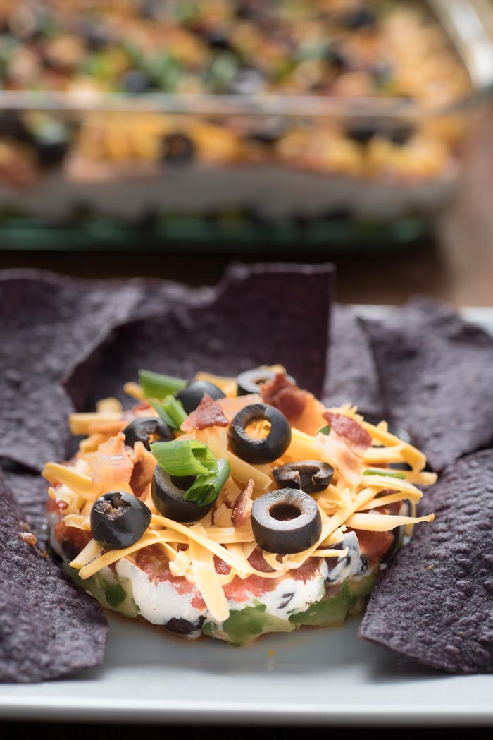 Easy Taco Dip Recipe - Our favorite easy cold layered taco dip