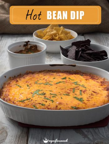 hot bean dip - only 5 ingredients