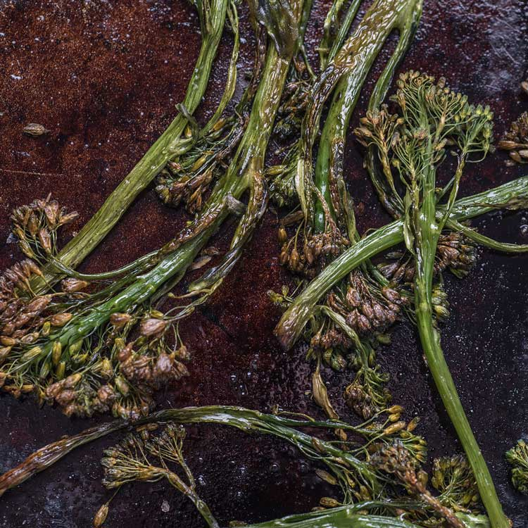 crispy broccolini