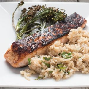 spicy pan seared chili lime salmon recipe