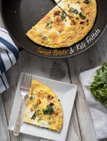 Sweet Potato and Kale Paleo Frittata