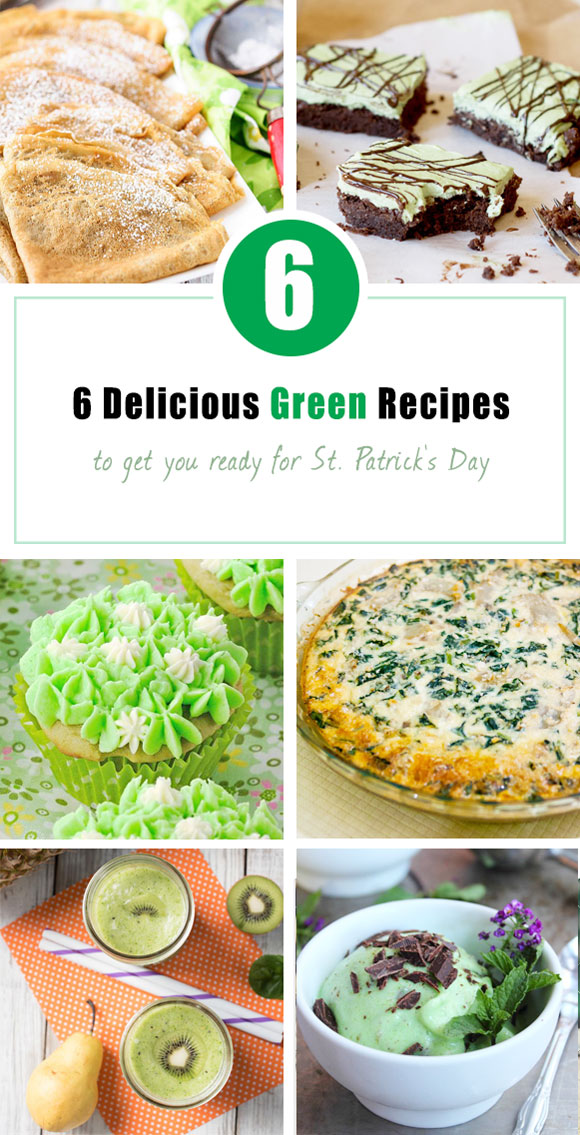 green st. patricks day recipes