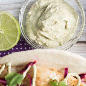 spicy fish taco sauce recipe