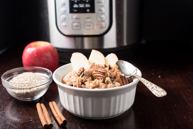 how to make instant pot steel cut oats