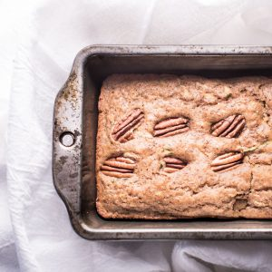 low sugar flax zucchini bread