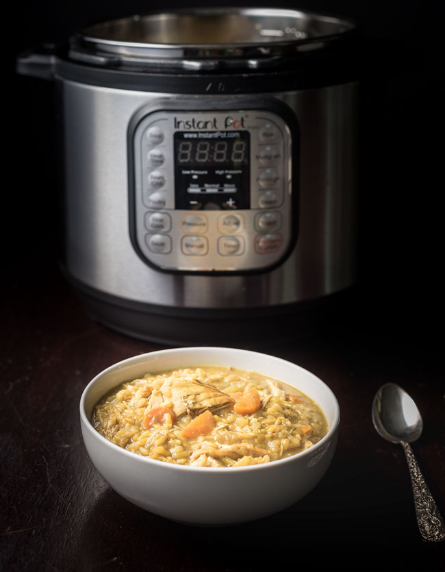 How to fix Instant Pot Mulligatawny Chicken Soup