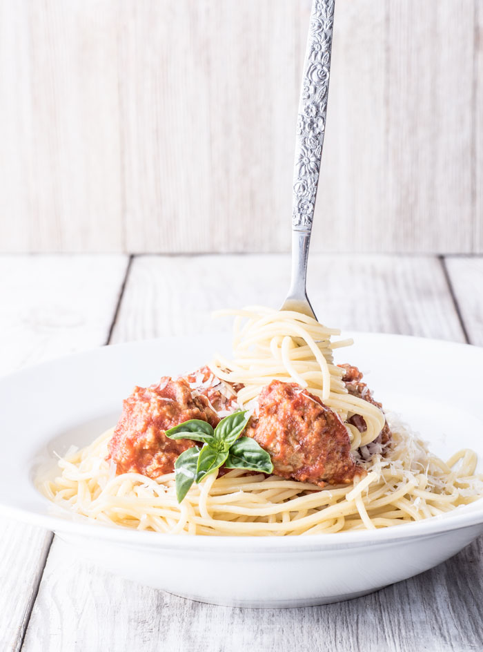 eggplant meatballs - a great meatless alternative to the traditional meatball