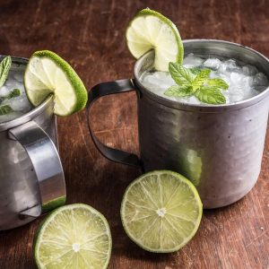 gin mint mule cocktail recipe