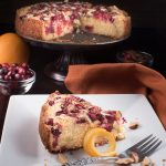 cranberry torte -- the perfect holiday dessert recipe