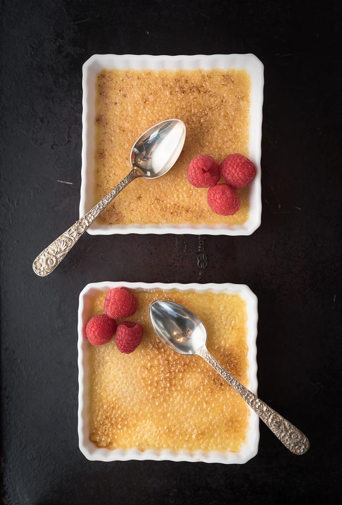 creme brulee that was made in an Instant Pot