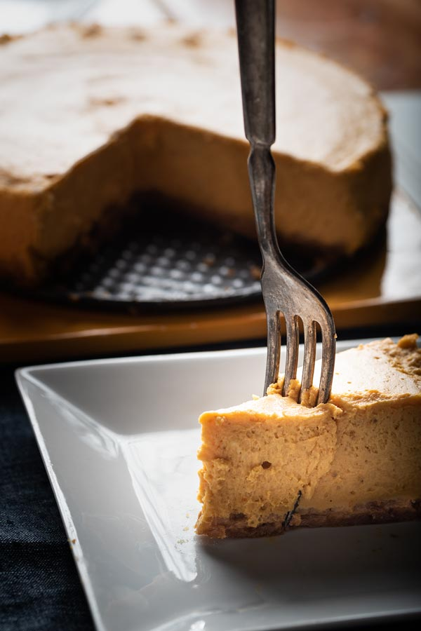 easy instant pot pumpkin cheesecake
