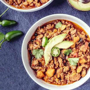 paleo slow cooker turkey chili
