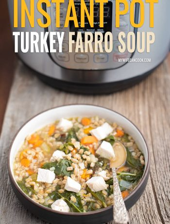 instant pot turkey soup